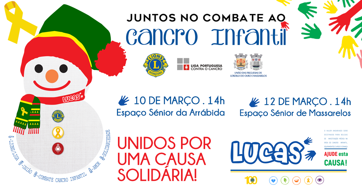 Oficina do Lucas - Juntos no Combate ao Cancro Infantil